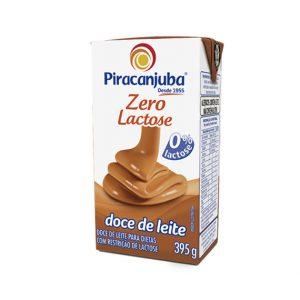 Doce de Leite Zero Lactose - Piracanjuba - 395g-0