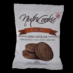 Cookies Cacau Zero Açucar s/Gluten s/Leite s/Ovo - Nutricookie-0