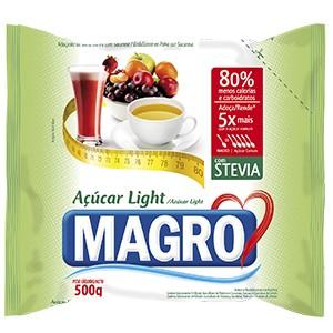 Açúcar Light c/ Stevia - Magro - 500g-0