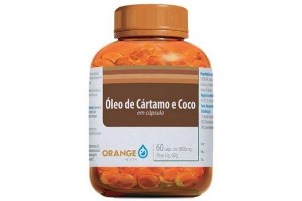 Óleo de Cartamo c/ Coco - Orange - 60 caps 1000mg-0