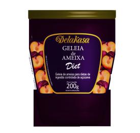 Geleia Diet de Ameixa - Delakasa - 200g