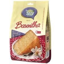 Massa para Bolo Sabor Baunilha s/Gluten s/Lactose - SupraSoy - 300g-0