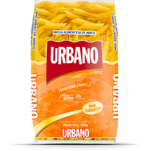 Macarrão de Arroz Penne sem Glúten - Urbano - 500g-0