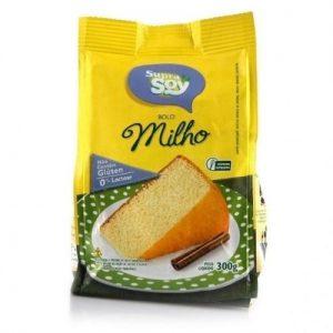Massa para Bolo Sabor Milho s/Gluten s/Lactose - SupraSoy - 300g-0