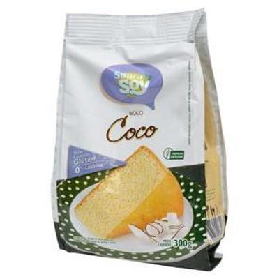 Massa para Bolo sabor Coco s/Gluten s/Lactose - SupreSoy - 300g-0