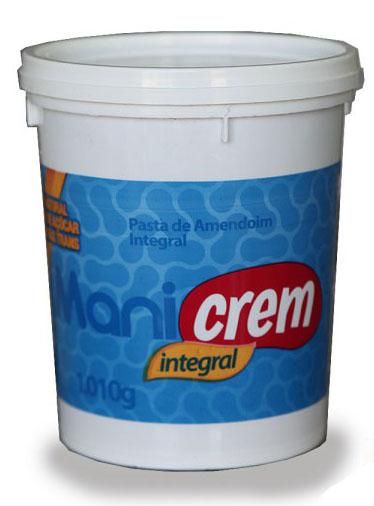 Pasta de Amendoim Integral - Manicrem - 1kg-0