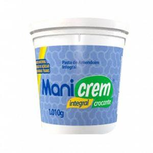 Pasta Integral de Amendoim Crocante - Manicrem - 1kg