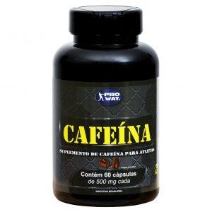 Cafeína - Proway - 60caps - 500mg-0